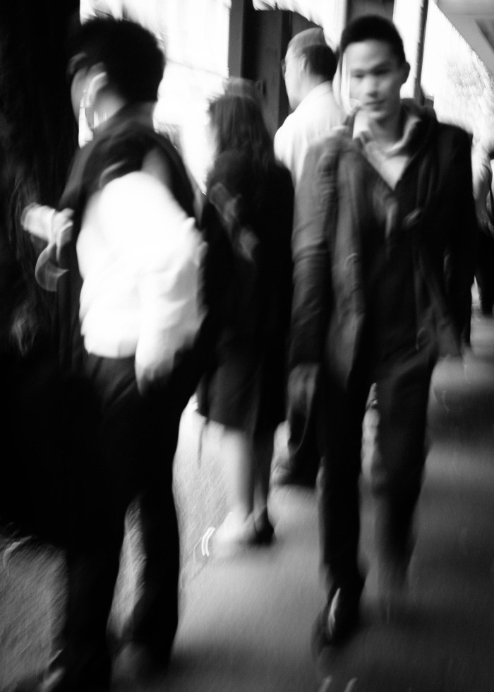 Sydney - Hustle, bustle and movement.